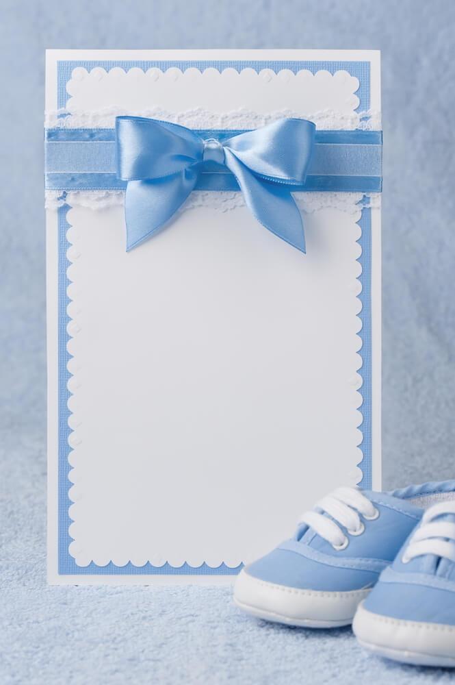 wie man eine babyparty richtig planen kann, Einladungsentwurf