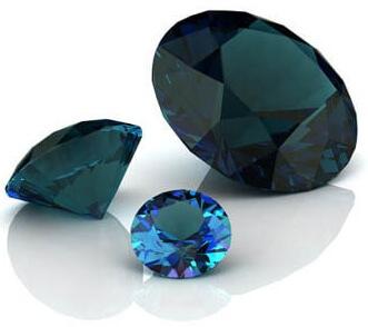 Verlobungsringe: Bedeutung der Steine: Alexandrit Stein blau