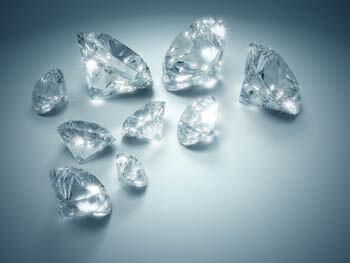 Verlobungsringe: Bedeutung der Steine: Diamant Steine weiß