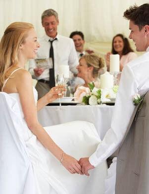 Wenn die beste Freundin heiratet: Brautvater hält eine Rede
