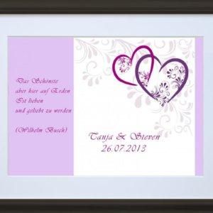 Romantischer Liebesbrief