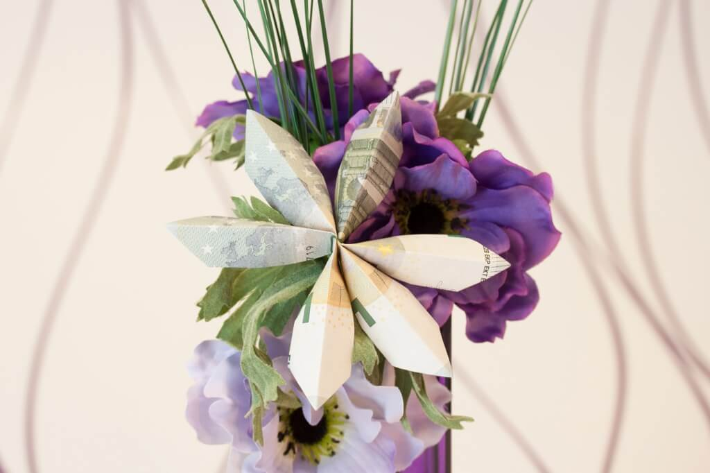 Blume Faltanleitung